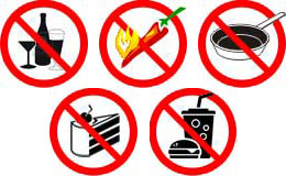 Что категорически запрещено при хроническом холецистите