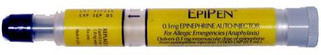 EpiPen — одна из популярных моделей автоинъектора с адреналином